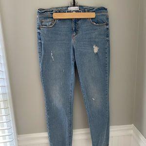 Loft Modern Skinny Cropped Jeans